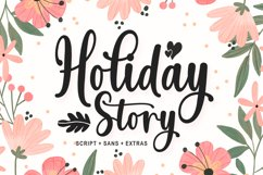 Holiday Story Font Duo Product Image 1