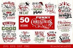Funny Christmas SVG Bundle 50 designs Product Image 2