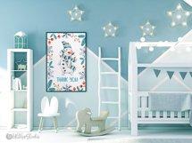 Cute Xmas naive Snowman Christmas watercolor nursery clipart Product Image 8