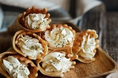 Russian waffles with cream cheese Product Image 2