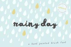 Rainy Day Brush Font Product Image 1