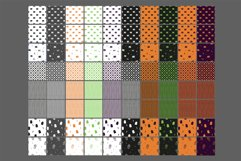 80 Halloween Seamless Vector Pattern Swatches Product Image 6