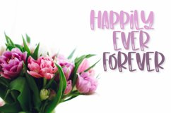 Wildflowers - A Clean Floral Brush Font Product Image 2