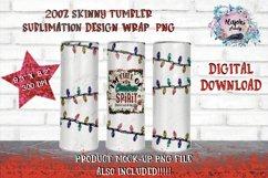 Christmas Lights | Sublimation | Tumbler Design | Product Image 1