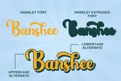 Hansley - Retro Font Product Image 4