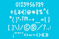 Summer Meadows - Shiny & Solid Fun & Quirky Font Product Image 5