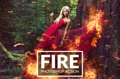 Fire Photoshop Action Product Image 1