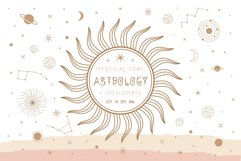 Astrology mystical font Product Image 1