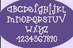 Web Font Violet Flamingo - A Quirky Hand-Written Font Product Image 2