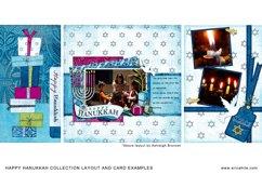 Happy Hanukkah Digital Scrapbooking Collection Product Image 3