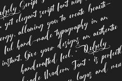 Qubely Script Font Product Image 6