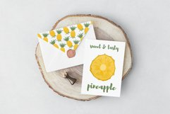 Pineapple hand drawn clip art Product Image 2