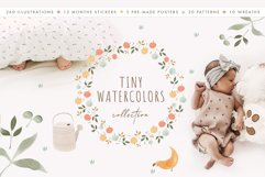 Tiny Watercolors! Nature collection Product Image 1
