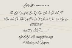 Barnett - Signature Font Product Image 6