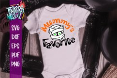Mummys Favorite Halloween SVG Product Image 1