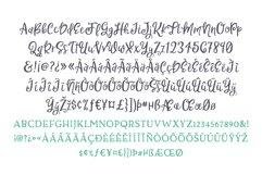 Sweet Nothings Script Bonus Font! Product Image 7