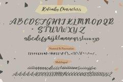 Kalimby - Handwritten Script Product Image 4