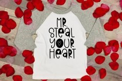 Web Font Valentine Flowers - A Valentine's Day Font Product Image 2