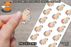 Small Business Sticker Pretty Nails Inside Nail Tech PNG Product Image 1