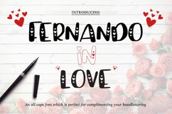 Valentine's Font Bundle with 6 Free Procreate Brushes Product Image 3