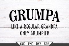Grumpa Funny Grandpa SVG Product Image 2