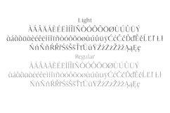 Jesusa Serif Typeface Product Image 4