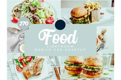 270 Food Mobile and Desktop PRESETS Product Image 1