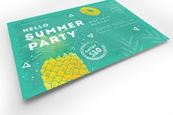 Minimal Summer Flyer Template Product Image 4