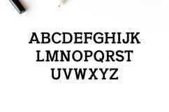 Naava A Slab Serif Typeface Product Image 3
