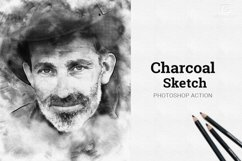Charcoal Sketch Photoshop Action Product Image 1