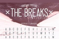 Web Font The Breaks smooth version Product Image 3