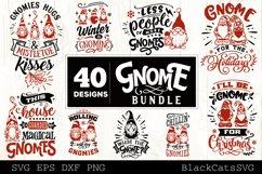 Christmas Gnomes SVG bundle Gnome bundle SVG 40 designs Product Image 3