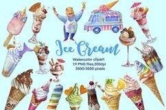 Ise cream clipart,dessert clip art Product Image 2