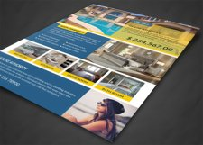 House For Sale Flyer Design Product Image 3