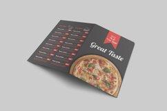 Food Menu Bi-Fold Brochure Product Image 5