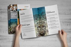 Holiday Travel Brochure Design v5 Product Image 2