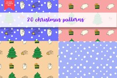Christmas bears and patterns Product Image 3