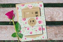 Vintage Wedding Invitation Suite Product Image 2
