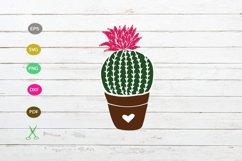 cactus svg cut file, cactus silhouette design,cactus clipart Product Image 1