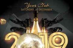 New Year Party Flyer Product Image 3