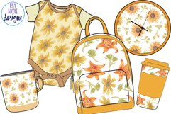 Summer Sunshine Blooms clipart Product Image 3