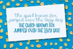 Twirly Font Duo - A Fun Hand Lettered Script & Print Pair Product Image 4