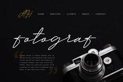 Millan | Oblique Signature Font | Product Image 3