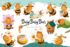 Busy Bee Illustrations Product Image 1