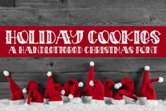 Holiday Cookies - A Hand-Lettered Christmas Font Product Image 1