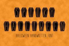 Spooky Halloween handwritten font in ttf, otf Product Image 1