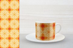 Ethnic Digital Paper, Mandala Seamless Pattern, Uzbek Suzani Product Image 5