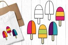 Summer Ice Cream Clip Art Illustrations Product Image 1