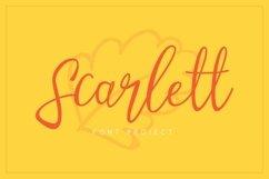 Web Font Scarlett Font Product Image 1