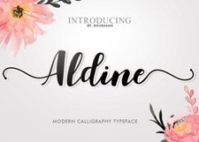 Aldine Script Product Image 1